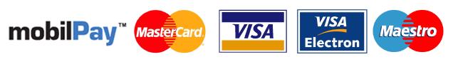 Puteti plati certificatul de performanta energetica prin MasterCard, Visa sau Maestro